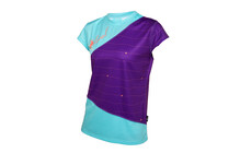 Local Crimp  jersey Femme violet/bleu